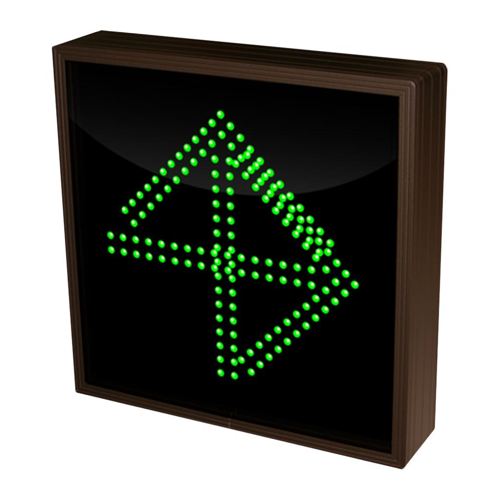 Up Arrow and Right Arrow LED Sign 120 -277 VAC, 12 x 12