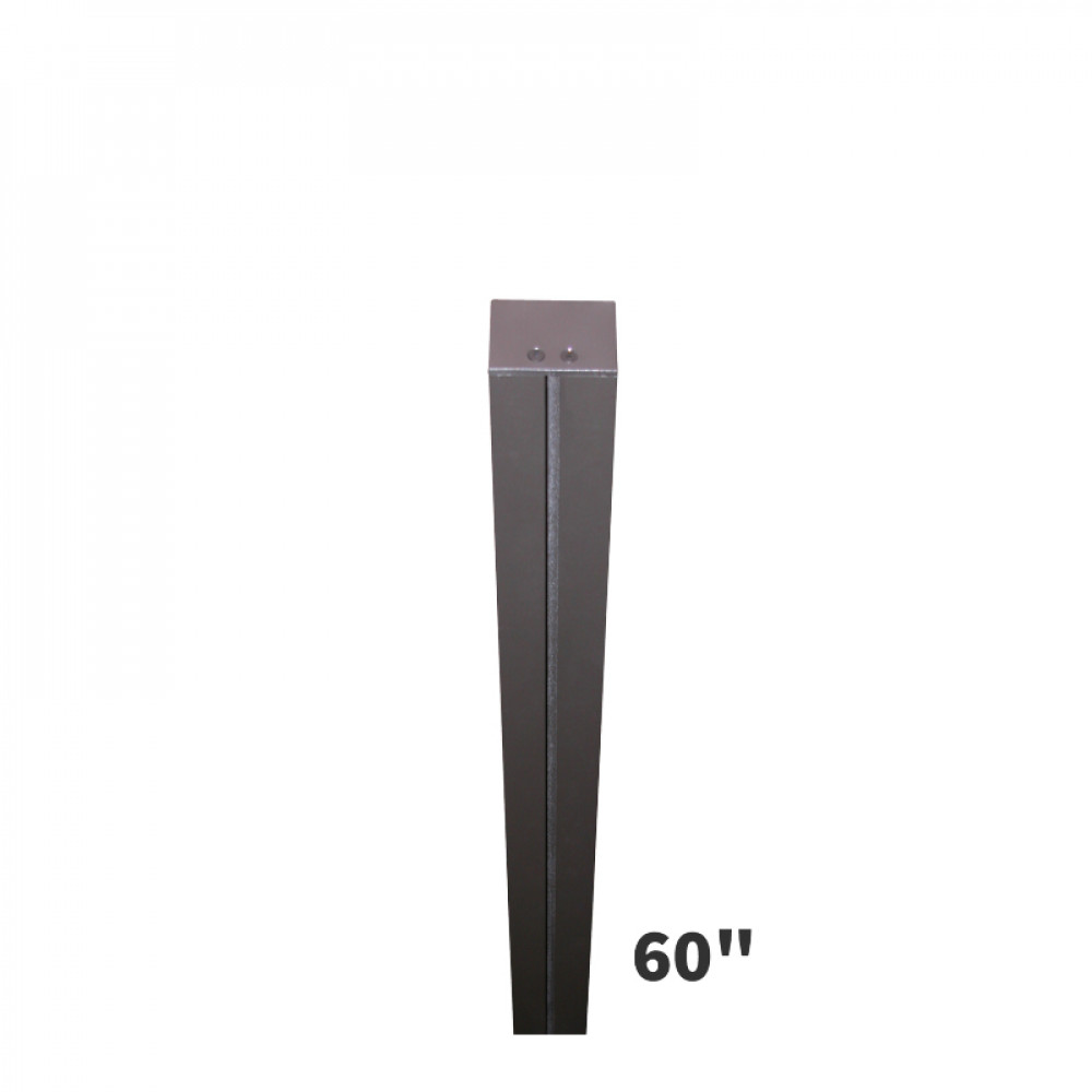 Sign Post 5ft Tall Direct Burial Mount Post