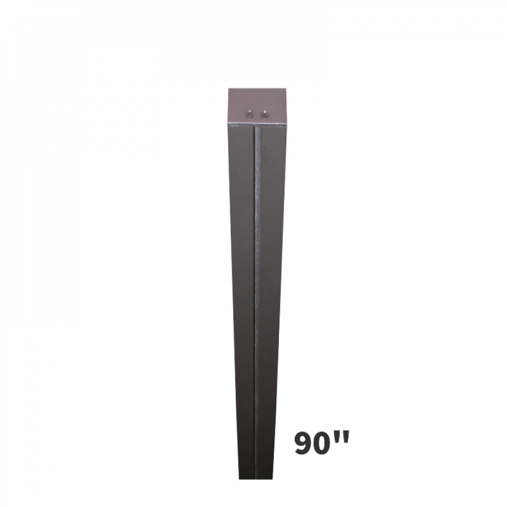 Sign Post 90in Tall Direct Burial Mount Post