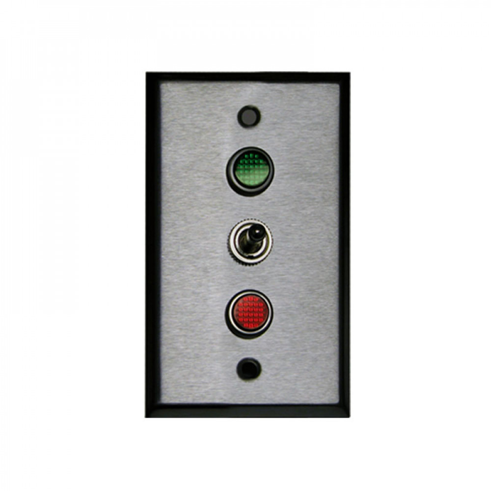 Single Gang Toggle Controller Switch, 3 position On-Off-On SPDT