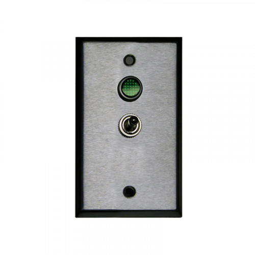 Single Gang Toggle Controller Switch, 2 position On-Off SPST, Green LED