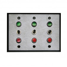 Triple Gang Controller, 3 position Toggle Switch SPDT On Off On