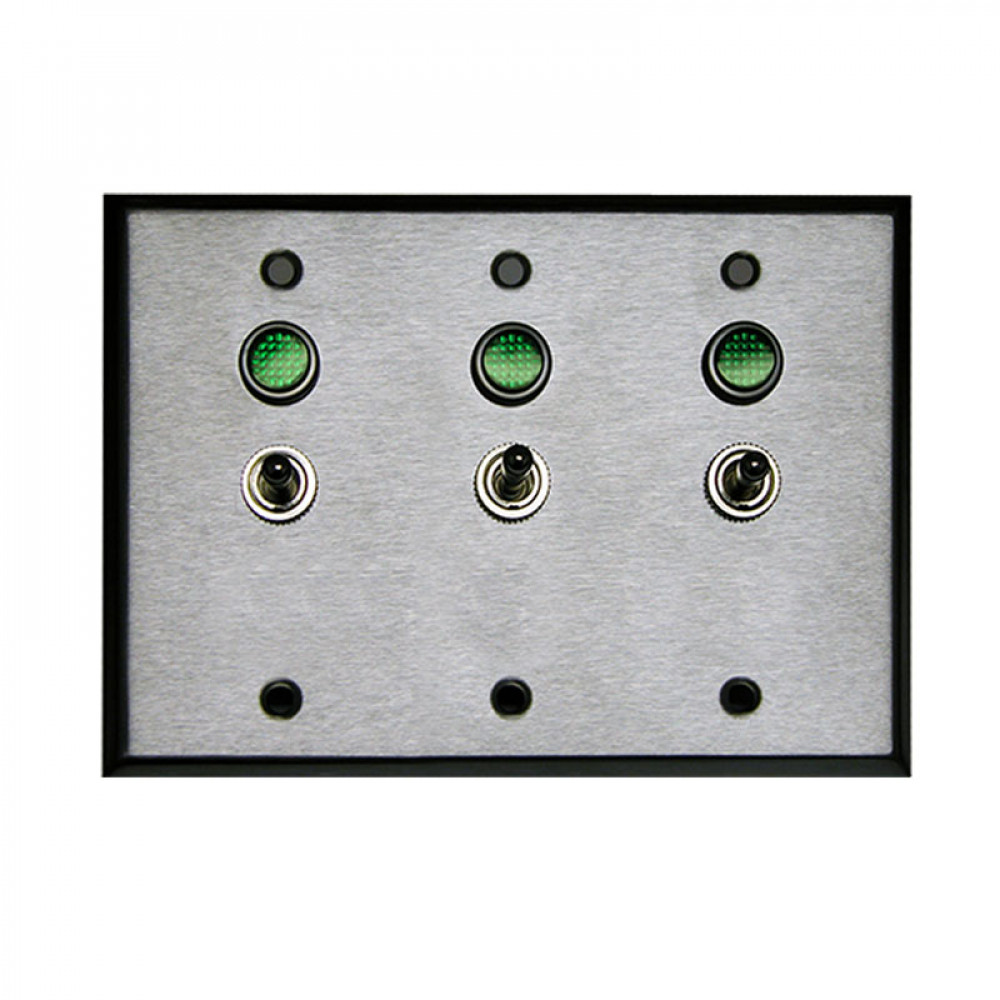 Triple Gang Controller, 2 position On Off Toggle Switch SPST
