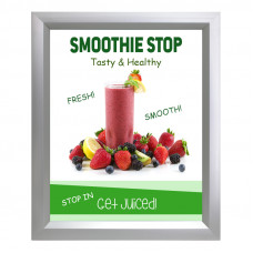 Slide In Poster Frame 12x18 Slim Profile with 15 Frame Colors