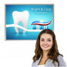 Snap Frame LED Light Box Sign 18x24, Slim Profile, Color Options