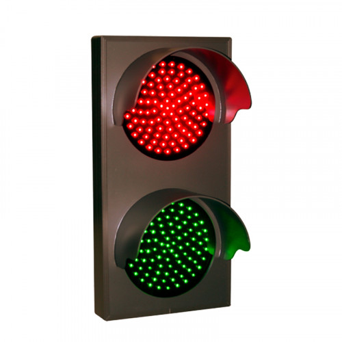 Traffic Signal Lights, Vertical Stop and Go Lights 12-24 VDC, 14x7