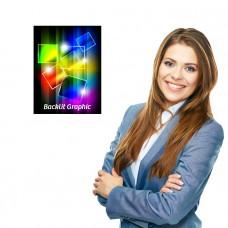 Backlit Graphic 11 x 14 Custom Printed, Photo Quality