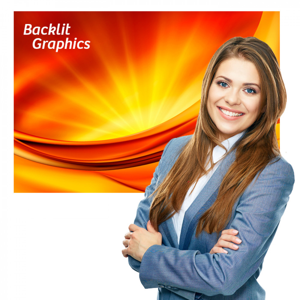 Backlit Graphic 23 x 34 Printed Poster Graphic for Lightbox Signs