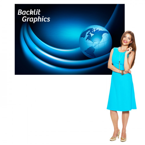 Backlit Graphic 48x72  Custom Printed Poster for Light box Signs
