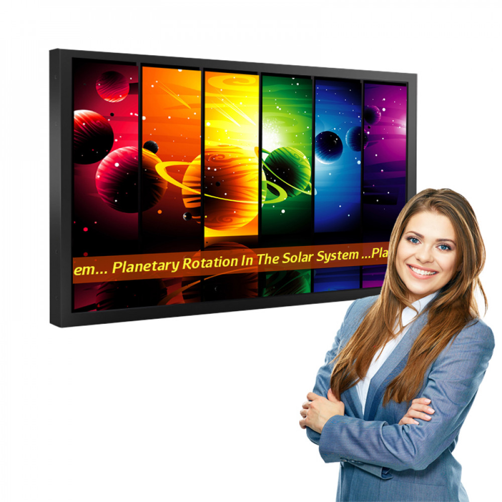 """Digital Signage Player 43"""" LCD Display with Media Player, Wall Unit"""