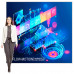 Large Animated SEG Light Box Display 81x82 includes Graphic and Animation