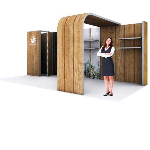 SEG Modular Exhibit Modco 20ft X 10ft Booth Kit 4b