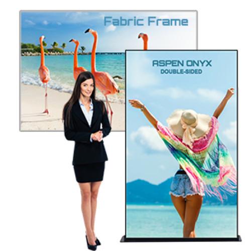 Fabric Frames Non-Lit