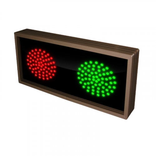 Traffic Signal Red and Green LED Lights 120-277 VAC 7x14