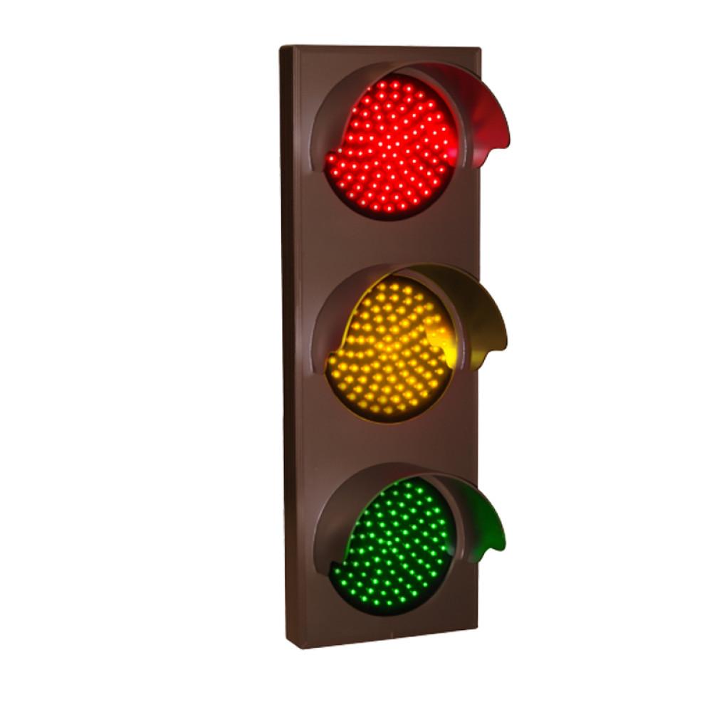 "LED Traffic Lights, 12-24 VDC Stop Light Outdoor Use 21"" x 7"""