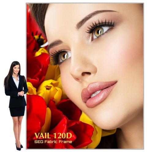 Vail Portable SEG Light Box Display 8ft x 10ft, 120DB