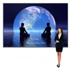 Portable Light Box Display with Backlit Graphics 10ft x 7ft Vail 120DB