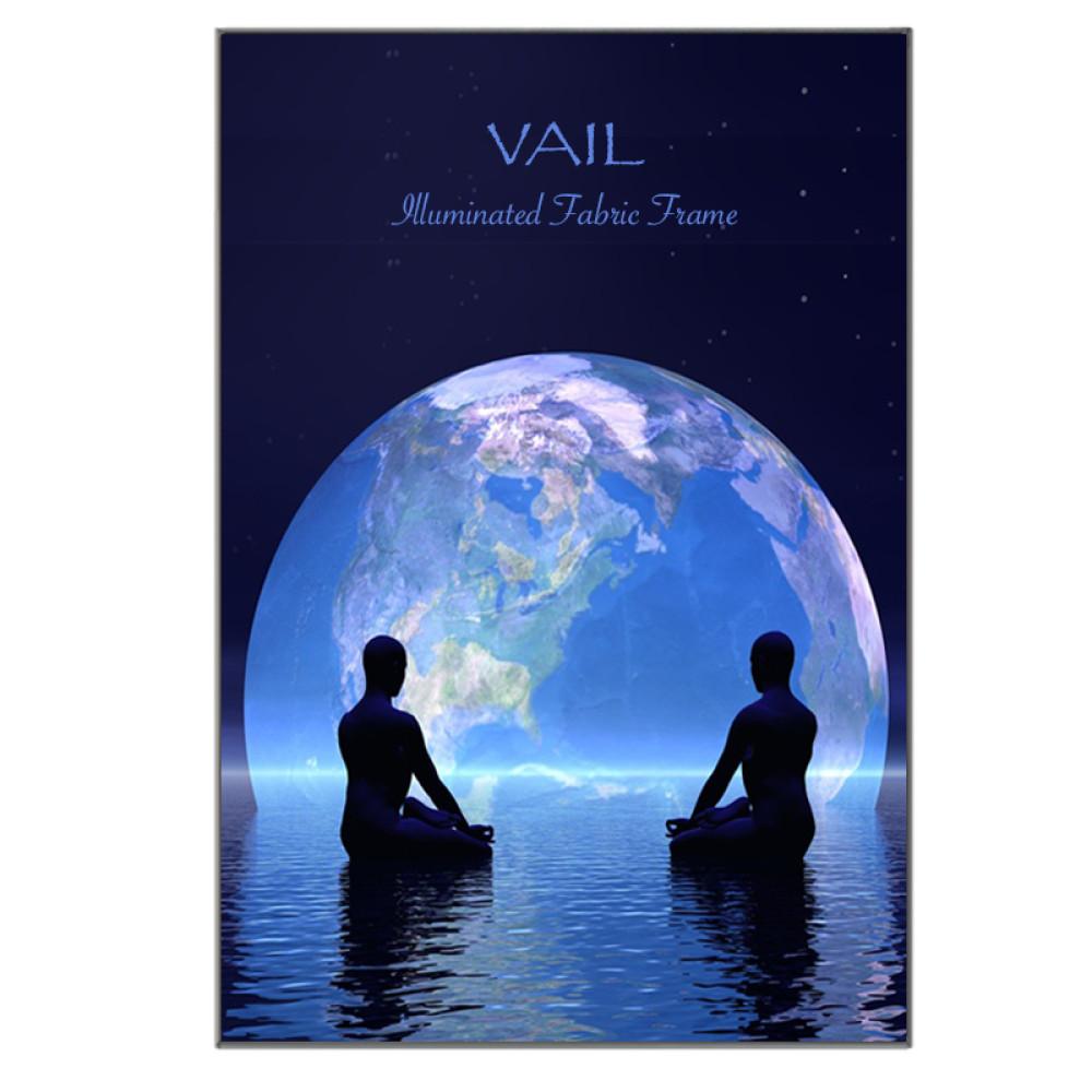 Vail SEG Fabric Frame LED Display with Backlit Graphics  7ft x 10ft, 120DB