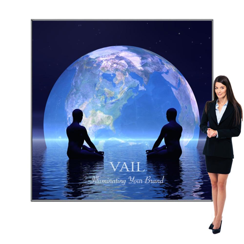 Vail LED Light Box Sign SEG Fabric Frames 7ft x 7ft, 120DB