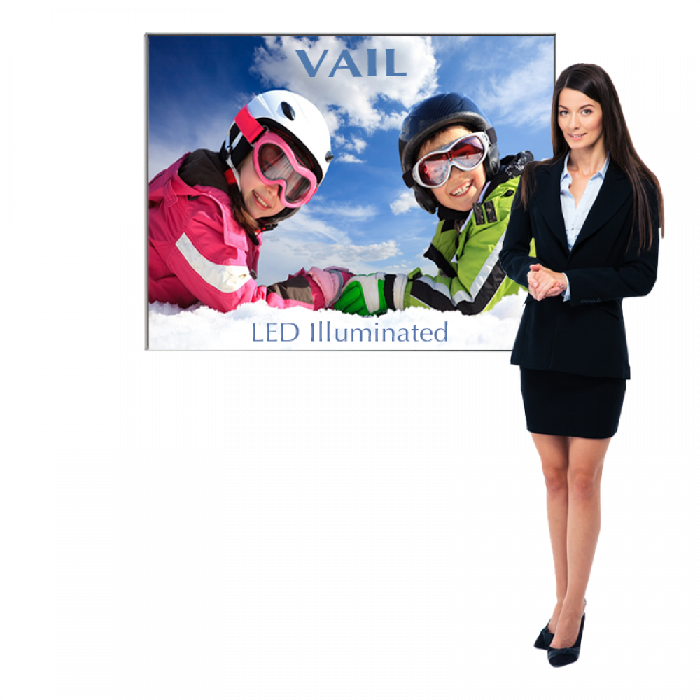 Personalized VAIL 120DB 6 x 3 Single-Sided Graphic Package