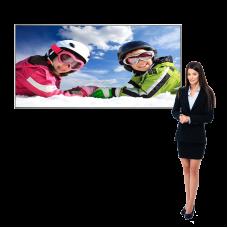 SEG Display Light Box with Backlit Fabric Banner 6ft x 3ft Vail 120DB