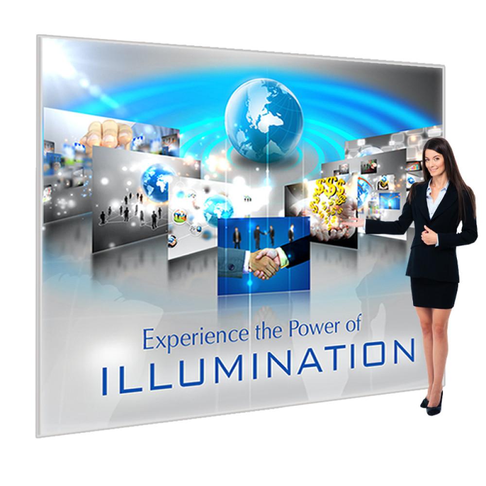 Vail Portable SEG Light Box Display 10ft x 8ft, LED Edgelit