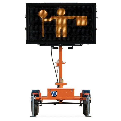 Metro Matrix Message Sign Board Large Display with Trailer