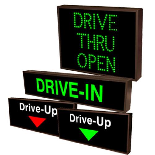 Drive Thru LED Signs
