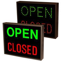Outdoor Open Signs