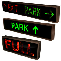 LED Parking Signs