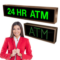 Outdoor ATM Signs