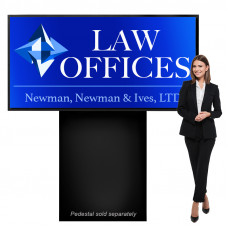 Outdoor Light Box Sign 3ft x 6ft Heavy Duty Cabinet, Double Sided