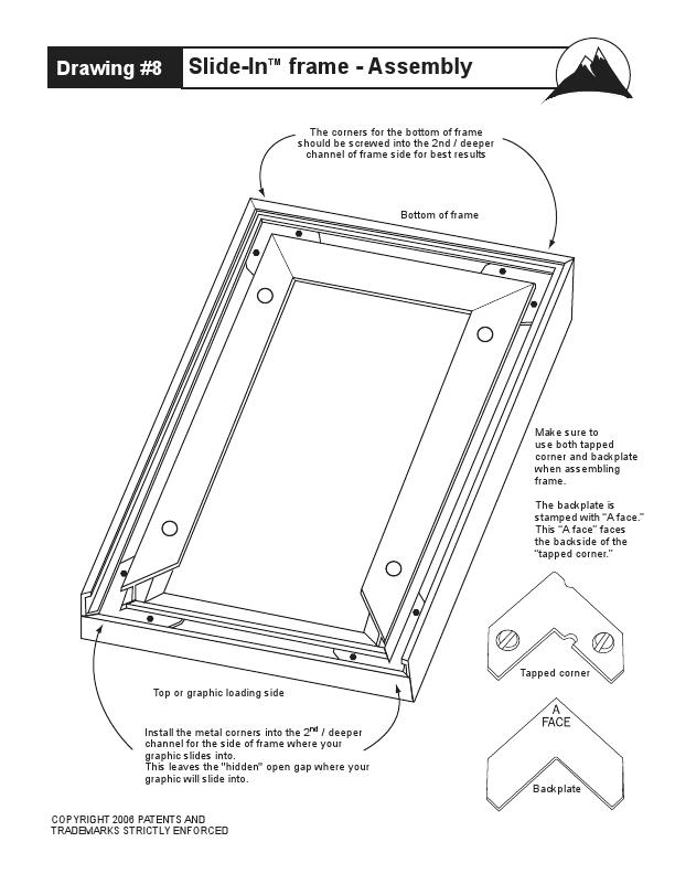 Flip Up Frame Instuctions