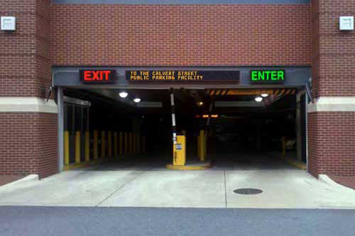 Enter and Enter Directional Signs