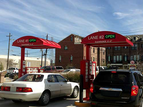 Outdoor LED Fast Food Open Signs