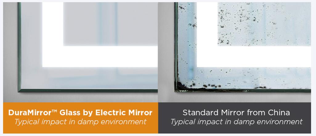 Electric Mirror glass comparison