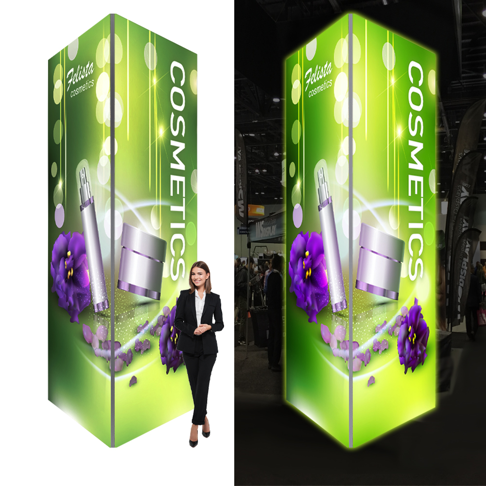 Trade show tower signs