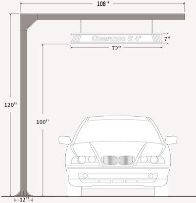 Mast Arm Post