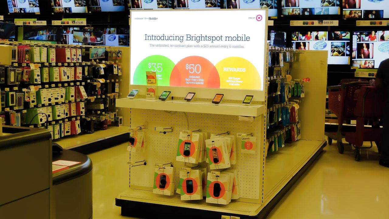 POS Light Box Display