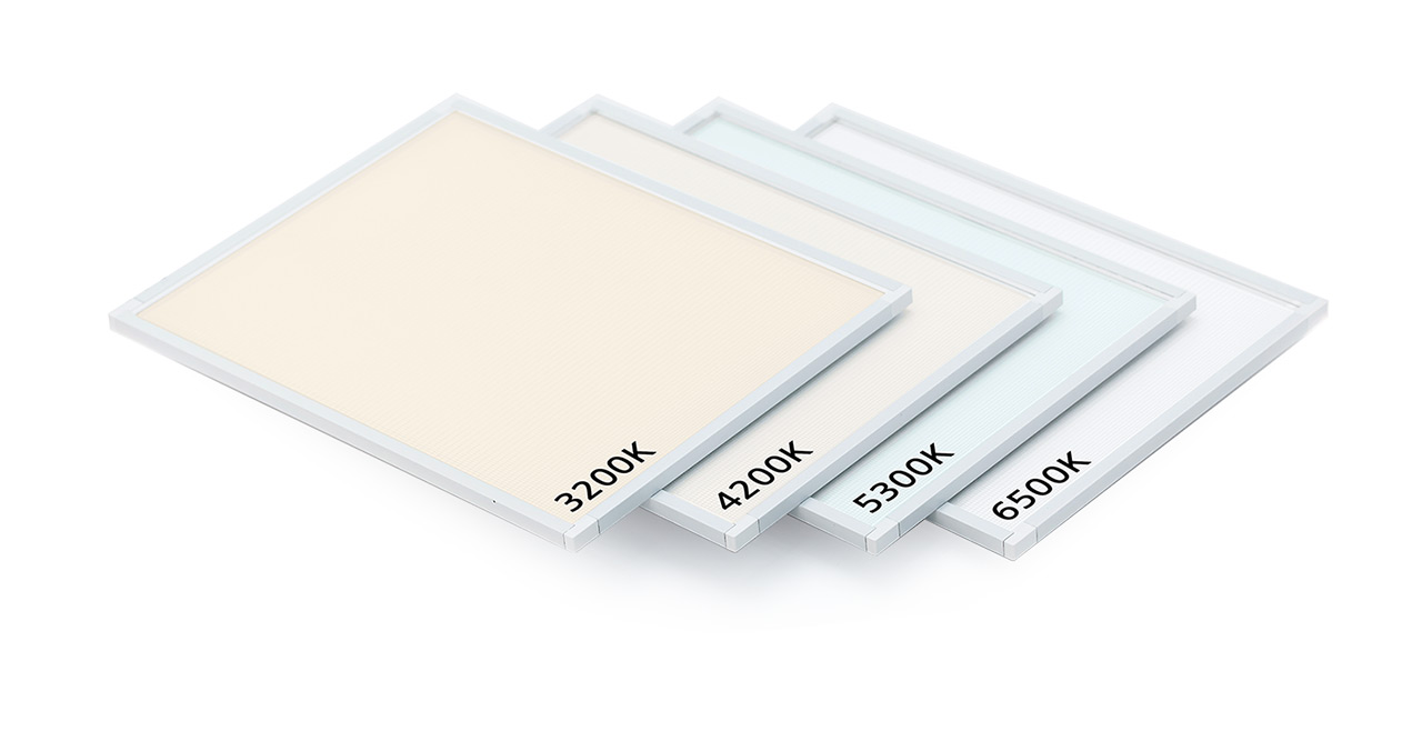 Color temperature led panels