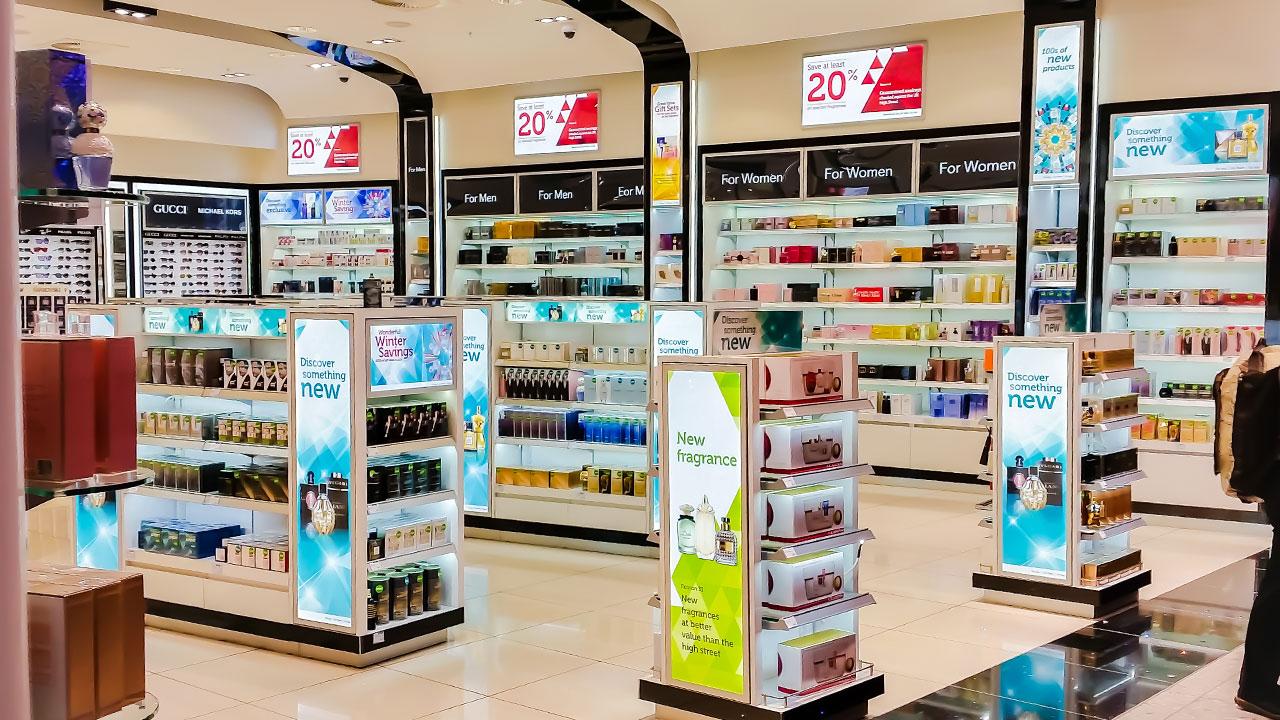 Convenience Store Light Box Display